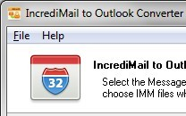Incredimail to Outlook Converter